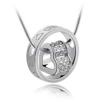 Heart Necklace for women love diamond heart necklace Heart Ring love