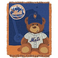 New York Mets Woven Youth 36x46 Throw Rug