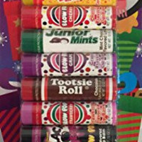Tootsie Roll 10 Flavored Lip Balms Christmas Packaging