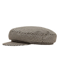 NAUTICAL STRIPE NEWSBOY CAP