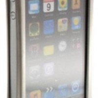Wicked Metal Jacket WMJ1341 Alloy for iPhone 4 - Platinum - 1 Pack - Case - Retail Packaging