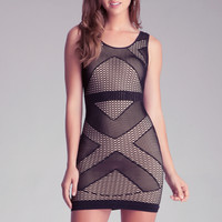 Triangle Double Layer Dress