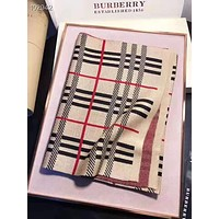 BURBERRY Hot Sale Men Women Classic Plaid Scarf Kerchief Cape Scarf Scarves