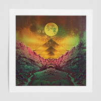 Penabranca First Full Moon Art Print - Urban Outfitters