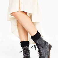 SOXIETY Ribbed Cashmere Knee-High Sock