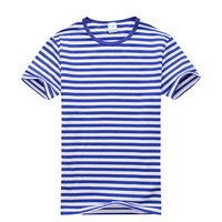 New Stylish Men Fashion Slim Fit Sailor's Striped T-Shirt Casual Shirts