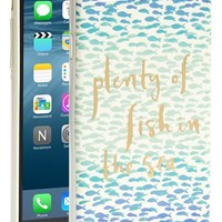 Women's kate spade new york 'plenty of fish in the sea' iPhone 6 case