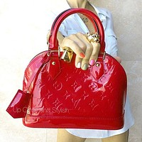 LV Louis Vuitton Alma BB Classic Bucket Bag Shoulder Bag Shell Bag Shopping Bag