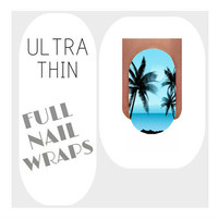 Nail Wraps Ultra Thin Nail Decal Wraps 18 Palm Tree Water Slide Decals Nail Decal Nail Art Tattoos