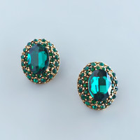 Emerald Sultan Earrings