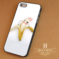 Cute Cartoon Banana Girl iPhone 4 5 5c 6 Plus Case | Samsung Galaxy S3 S4 S5 Note 3 4 Case | iPod 4 5 Case | HtC One M7 M8