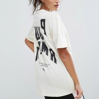 Puma Exclusive To ASOS Statement Oversized Short Sleeve T-Shirt at asos.com