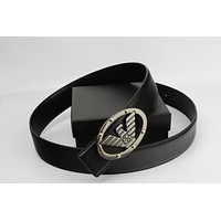 Cheap Armani belt men and women business belt casual fashion High quality belt sale-1074235311