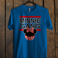 Disney Inspired Mickey Gang and Minnie Gang women Blue For Mens T Shirt and Womens T Shirt *76*