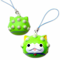 Youkai Watch Character Squishy Mascot Cell Phone Strap (Small / Togenyan)