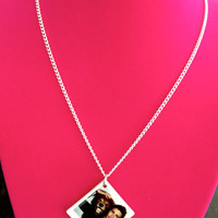 James Franco Polaroid Necklace by MEOWHEADS on Etsy