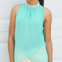 Clearance- Sophisticated Romantic Top