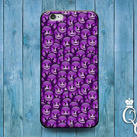 Cute Phone Case Emoji Purple Devil Funny Cover iPod iPhone 4 4s 5 5s 5c 6 Plus +