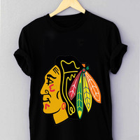 chicago blackhawks new logo - T Shirt for man shirt, woman shirt XS / S / M / L / XL / 2XL / 3XL *NP*