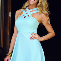 HOPE'S: Can't Get Past Me Dress: Mint | Hope's