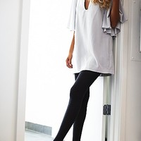 LOOK Womens Color Grained Tight