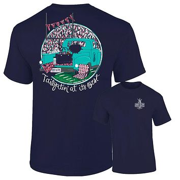 Southernology Southern Tailgating at Its Best Fall Comfort Colors T-Shirt