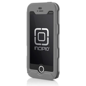 The Gray Incipio ATLAS ID™ (Domestic US) Ultra Rugged Waterproof Case for iPhone 5s