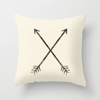 Arrows Throw Pillow by Zach Terrell