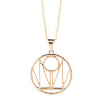 WOMEN'S WAY Signature Pendant 14k Gold