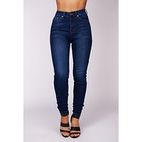 Fan Club KanCan Jeans (Dark Wash)