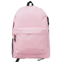 18inch Simple/Basic Backpack Book bag (Pink)