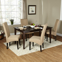 TMS Layla 5 Piece Dining Set