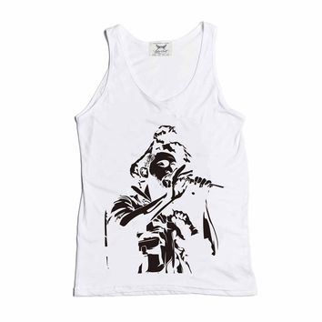 The Weeknd XO Beauty Behind the Madness White Tank