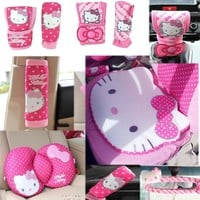Hello Kitty Styling Car Interior Accessories Covers