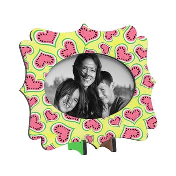 Lisa Argyropoulos Watermelon Love Sunny Yellow Tabletop Frame