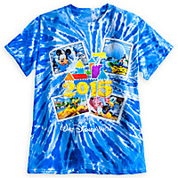 Mickey Mouse and Friends Tie-Dye Tee for Adults - Walt Disney World