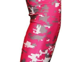 White | Gray | Pink Arm Sleeves