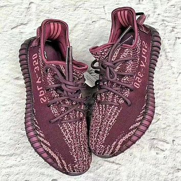 Samplefine2 Adidas Yeezy Boost 350 V2 men and women models fashion casual shoes F
