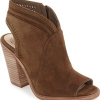 Vince Camuto 'Koral' Perforated Open Toe Bootie (Women) (Nordstrom Exclusive)   Nordstrom
