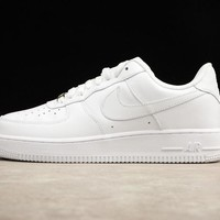 Nike Air Force 1 07 Low White Sneakers - Best Deal Online