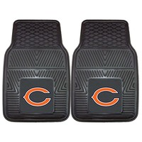 Fanmats 2-pk. Chicago Bears Car Floor Mats (Gray)