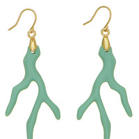 Coral Reef Dangle Earrings