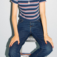 Helen Top - Stripes - Clothing