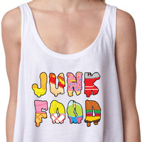 Junk Food Crop Top