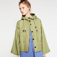 WATER REPELLENT PARKA - View All-OUTERWEAR-WOMAN   ZARA United States
