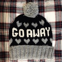 Fair Isle Pom Pom Ski Hat // The Go Away // Black, Heather Grey, & Fisherman