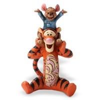 Enesco Disney Traditions by Jim Shore Tigger and Roo Figurine, 4.5-Inch