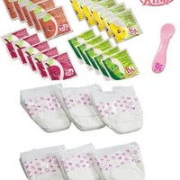 Hasbro Baby Alive Diapers, Food and Juice Accessory Pack