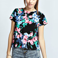 Isabel Floral Shell Top