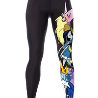 Timemory Womens 3d Digital Printed Leggings Cartoon Stretch Tights One Size